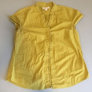 Coldwater Creek Yellow Blouse